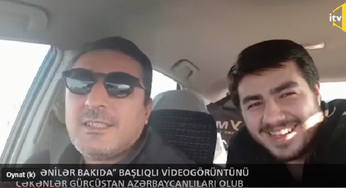 """Bakıda """"erməni"""" dilində danışanların kimliyi məlum oldu - VİDEO"""