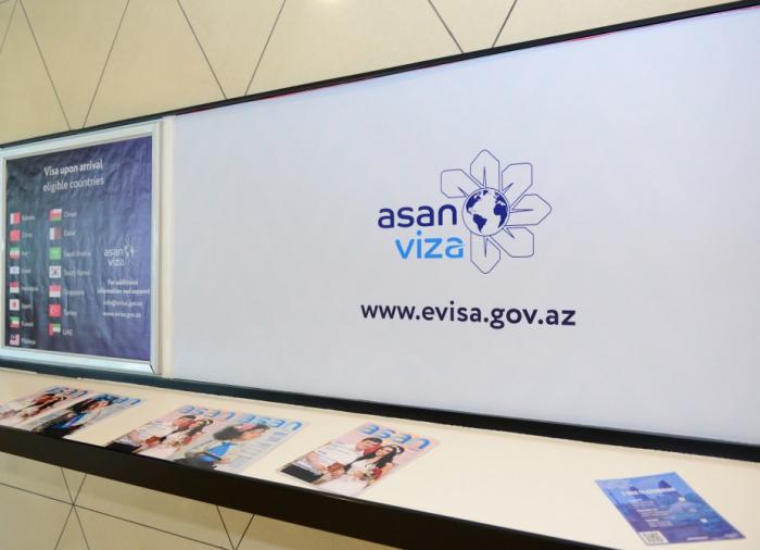 """Bu il """"ASAN Viza"""" vasitəsilə 870 minə yaxın viza verilib"""