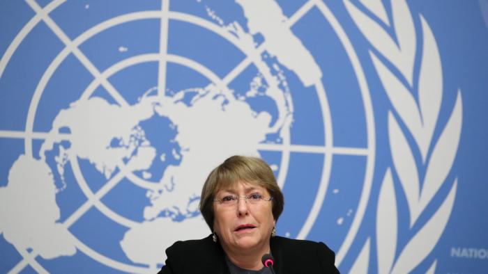 """China acusa a la alta comisionada de la ONU de interferencia """"inapropiada"""" en sus asuntos"""