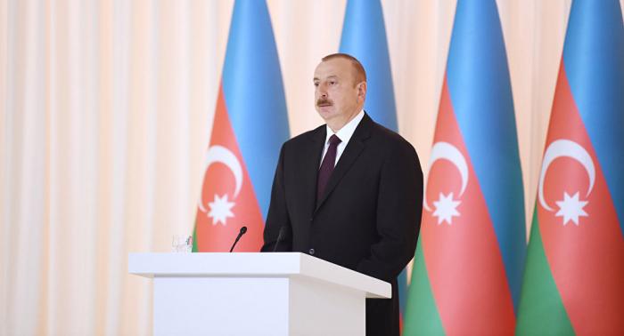 Las reformas traen grandes beneficios al país-   Ilham Aliyev