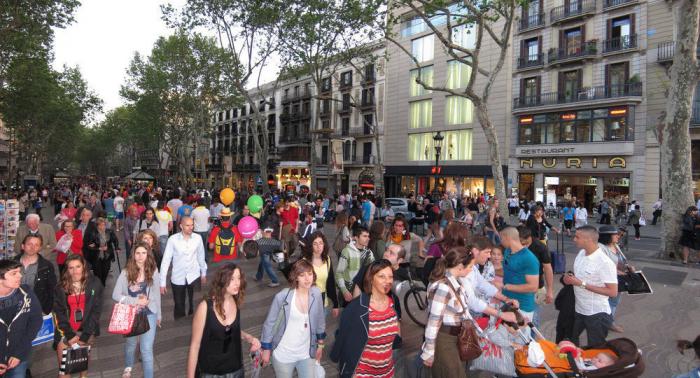 España ha recibido 74,7 millones de turistas en lo que va de año