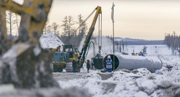 Russland nimmt Mega-Gaspipeline nach China in Betrieb