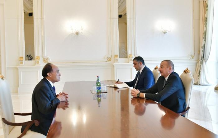 Ilham Aliyev rencontre le secrétaire général de l'UIT