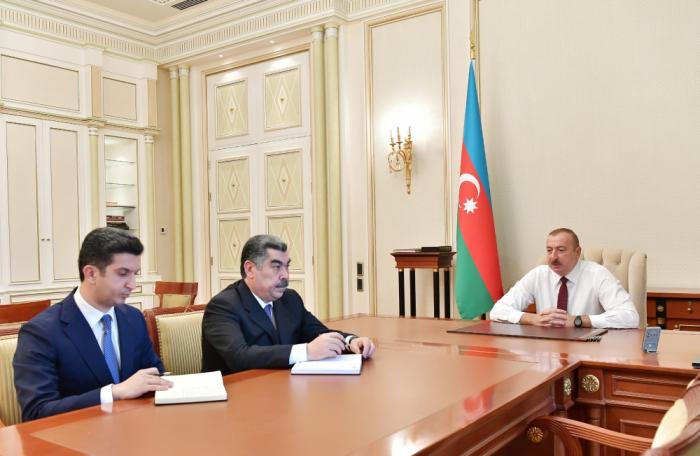 Prezident yeni icra başçılarını qəbul etdi - VİDEO (YENİLƏNİB)