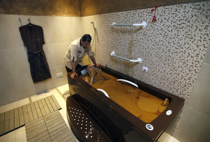 Azerbaijan to improve tourism in Naftalan resort