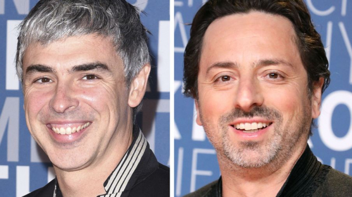 Google founders Larry Page and Sergey Brin step back from top roles