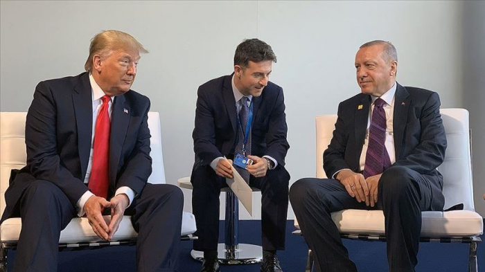 Turkish, US leaders meet amid NATO leaders' summit