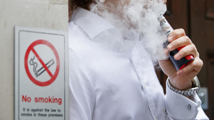 Vaping linked to rare lung disease: study