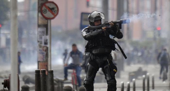 Policía niega ser responsable de muerte de joven en marcha pacífica en Bogotá