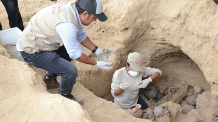 Hallan en Perú 15 entierros humanos de la época inca