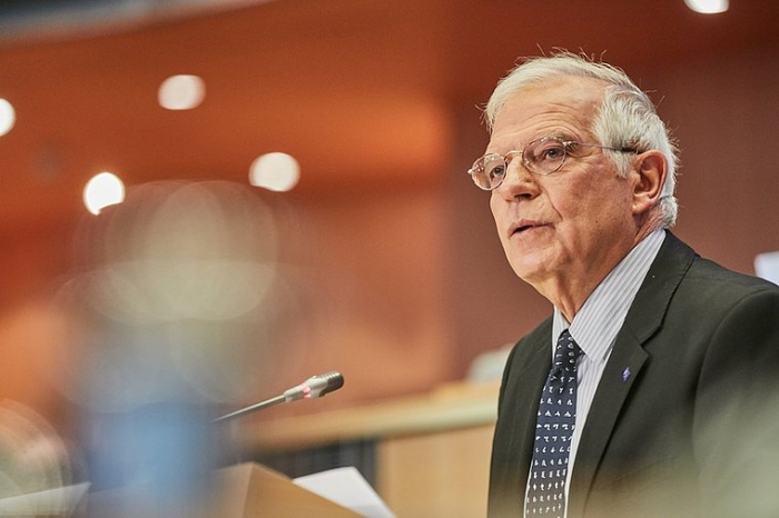 """Joseph Borrell:   """"Karabach-Konflikt kann nur auf der Grundlage der OSZE-Prinzipien gelöst werden"""""""