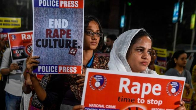 Unnao: India woman set on fire on her way to rape case hearing