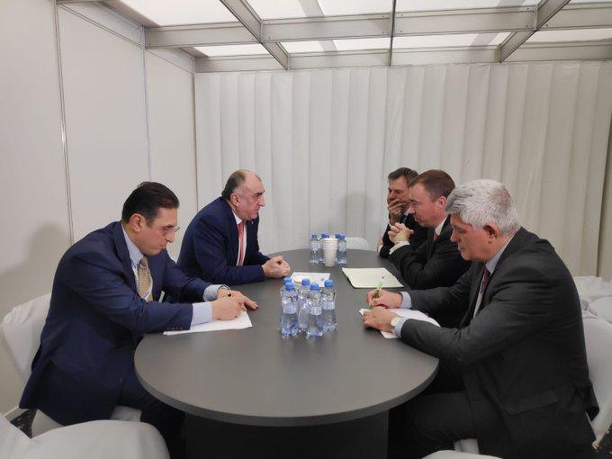 Mammadyarov discute du Karabakh avecle représentant spécial de l