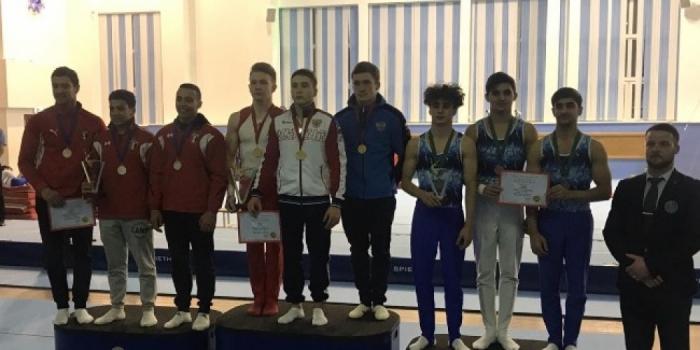 Gimnastas azerbaiyanos ganan 7 medallas en el torneo internacional celebrado en Rusia