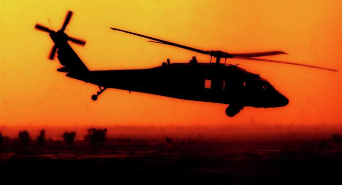 Accidente de helicóptero en Minnesota se salda con tres militares muertos