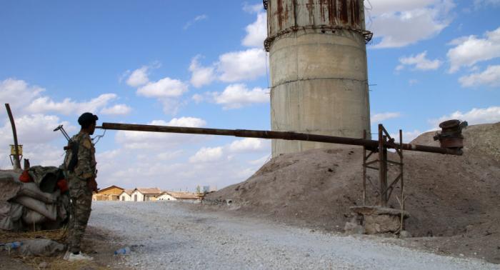 Atacan una base militar estadounidense cerca de un campo petrolífero en Siria