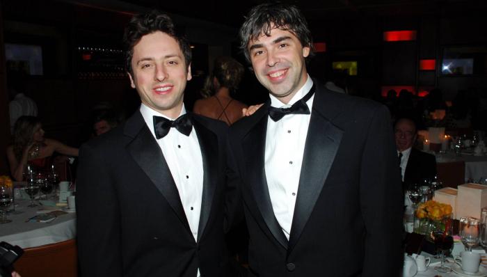 El futuro blindado de Larry Page y Sergey Brin, los fundadores de Google