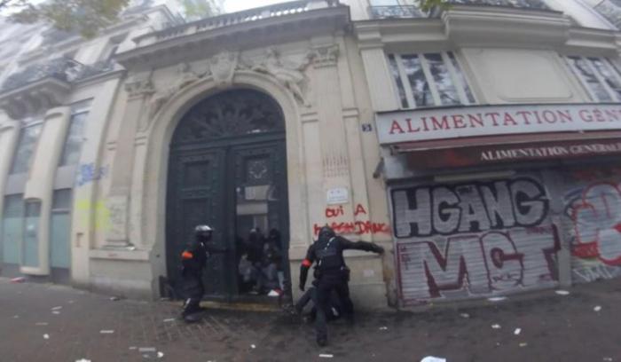 Paris:  enquête après les images d