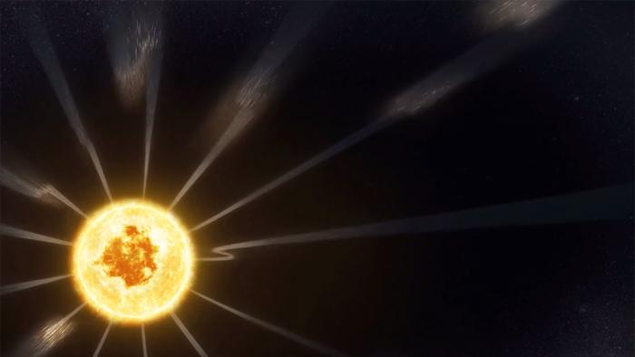Sonda Parker de la     NASA     observa en la corona del Sol unas fuerzas jamás registradas hasta ahora
