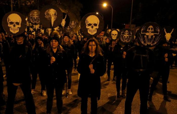 COP 25:   manifestation à Madrid avec Greta Thunberg