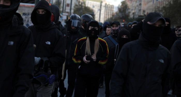 Al menos 77 detenidos por disturbios en Grecia