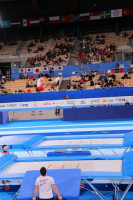 Gimnasta azerbaiyano obtuvo una medalla de oro en Tokio