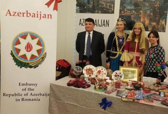 Azerbaiyán participa en el mercado de la caridad en Bucarest