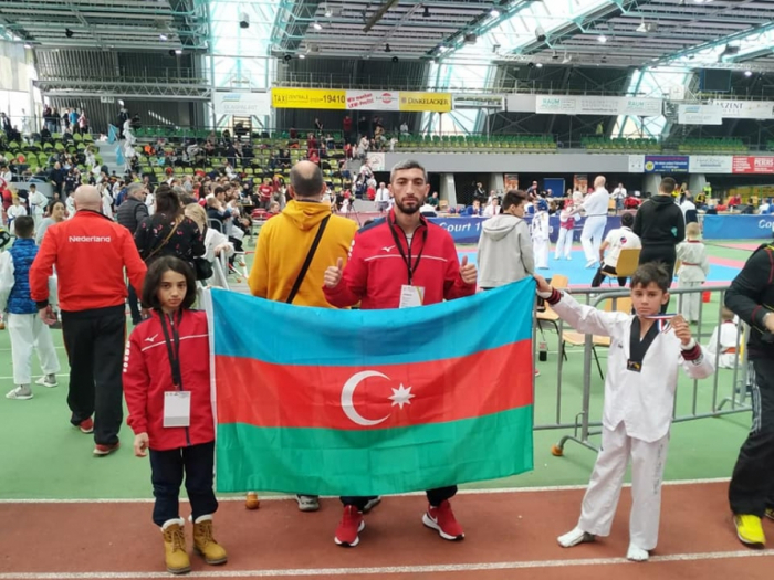Taekwondistas azerbaiyanos consiguen 7 medallas en el Campeonato Europeo