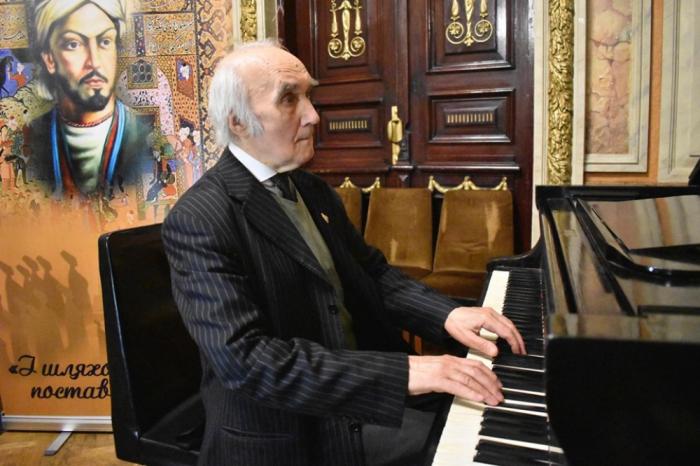 Famoso músico ucraniano dedicó una composición a Nasimí