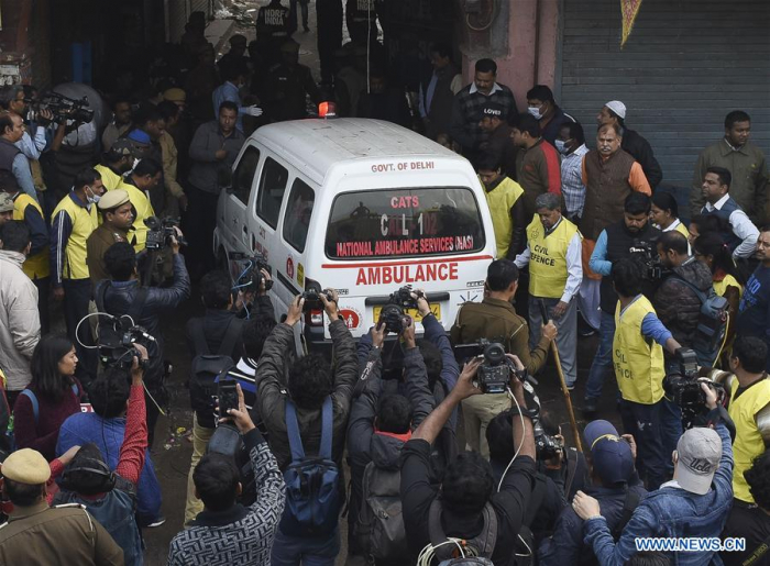 Death toll in Delhi fire reaches 43 - UPDATED