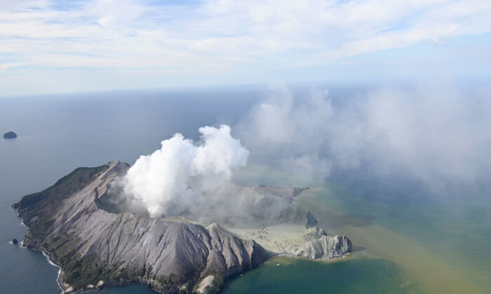 New Zealand volcano: At least five dead after White Island eruption - UPDATED