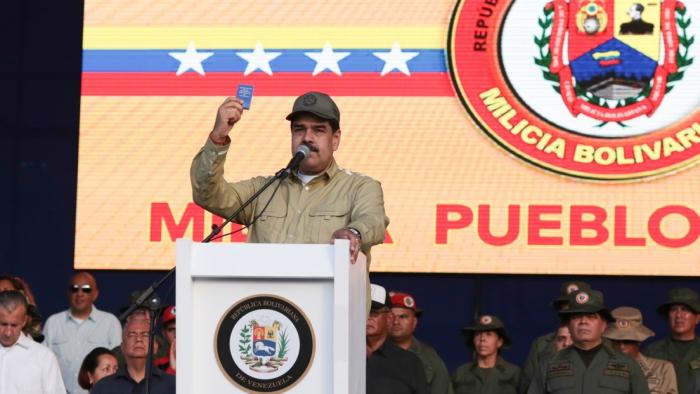 Maduro asegura que ya son más de tres millones los miembros de la Milicia Nacional Bolivariana