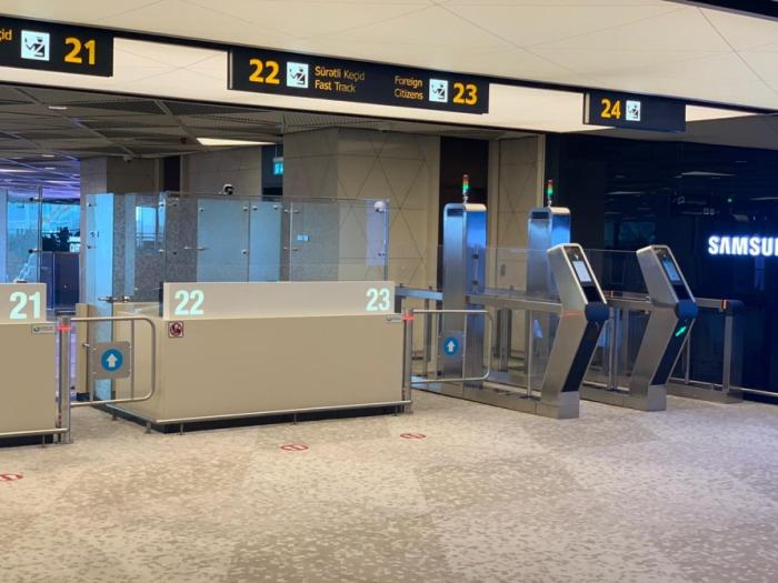 Nuevas tecnologías en el Aeropuerto Heydar Aliyev
