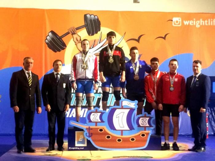 Azərbaycanlı idmançı yeni Avropa rekorduna imza atdı