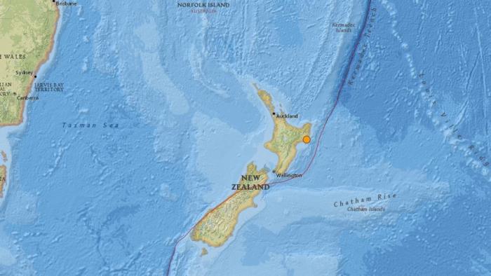 Un sismo de magnitud 5,0 sacude Nueva Zelanda
