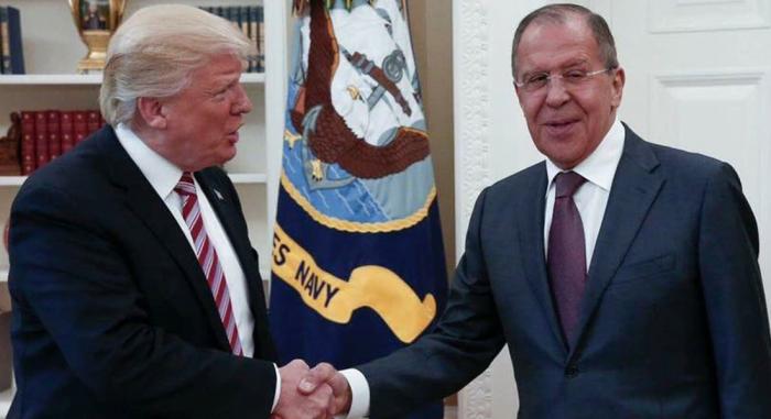 Donald Trump se reunirá el martes con el canciller ruso, Serguéi Lavrov