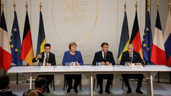 El Cuarteto de Normandía apunta a una nueva separación de las fuerzas en el este de Ucrania para marzo de 2020