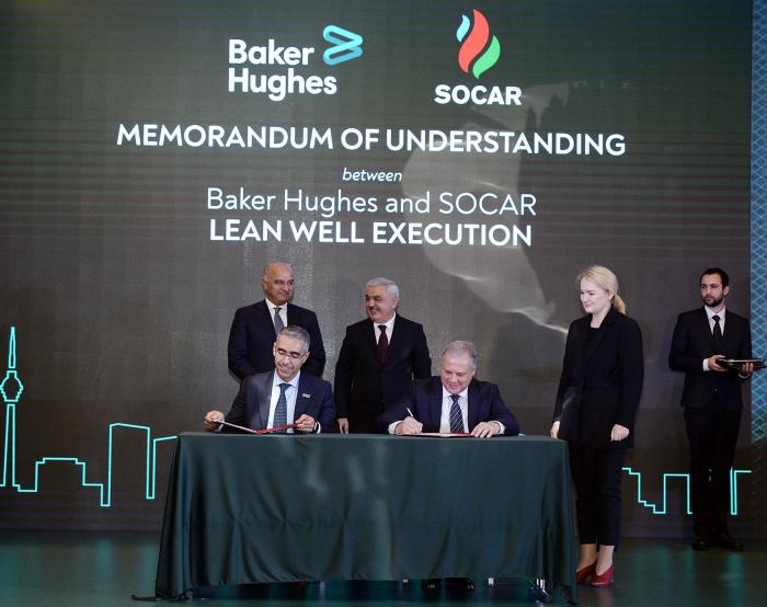SOCAR, Baker Hughes Co sign memorandum of understanding
