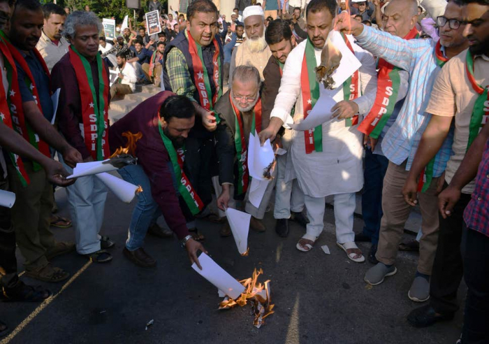 India: Hundreds demonstrate against citizenship bill excluding Muslims