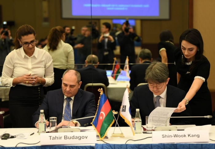 Les comités des statistiques azerbaïdjanais et coréen signent un mémorandum d'accord