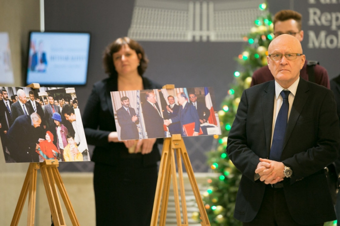 Presidenta del Parlamento de Moldavia: El gran líder Heydar Aliyev siempre ha defendido los intereses del pueblo, del Estado