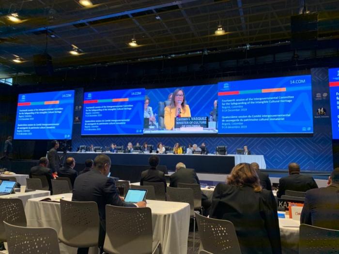 Azerbaiyán está representado en la sesión del Comité Intergubernamental de la UNESCO para la Salvaguardia del Patrimonio Cultural Inmaterial