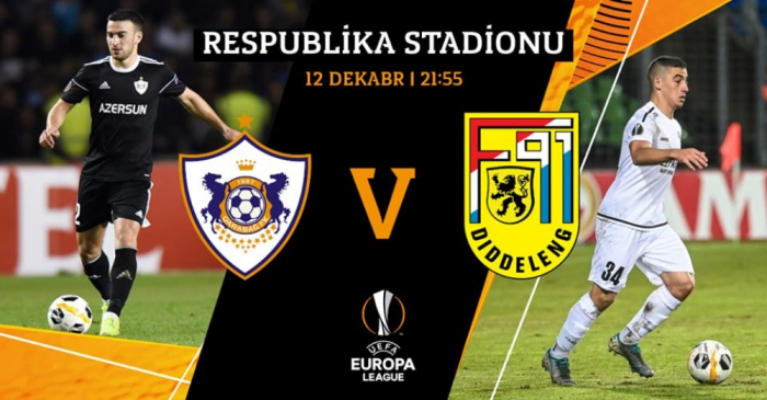 Le Qarabag FK jouera aujourd'hui son dernier match dans la Ligue des champions de l'UEFA