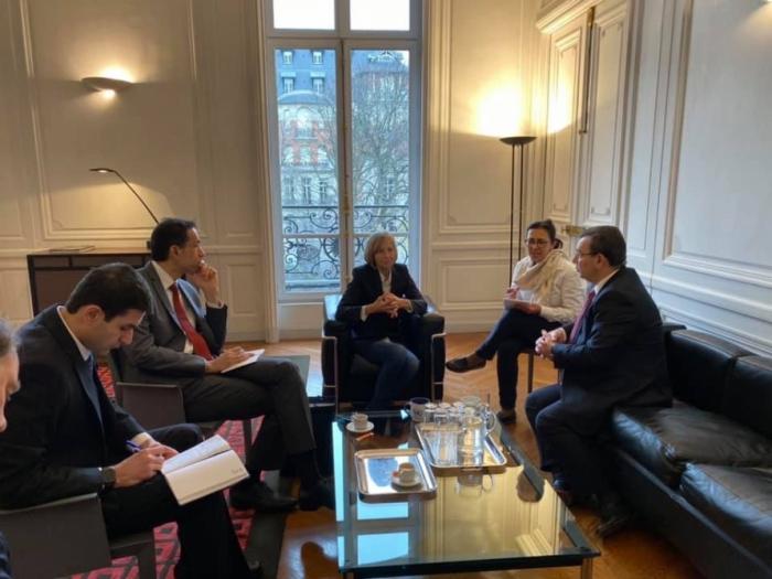 Les relations azerbaïdjano-françaises au menu des discussions