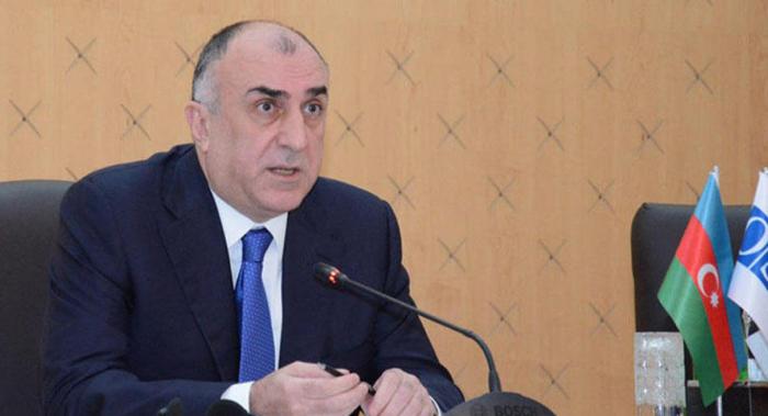 Canciller azerbaiyano se reúne con su homólogoletón