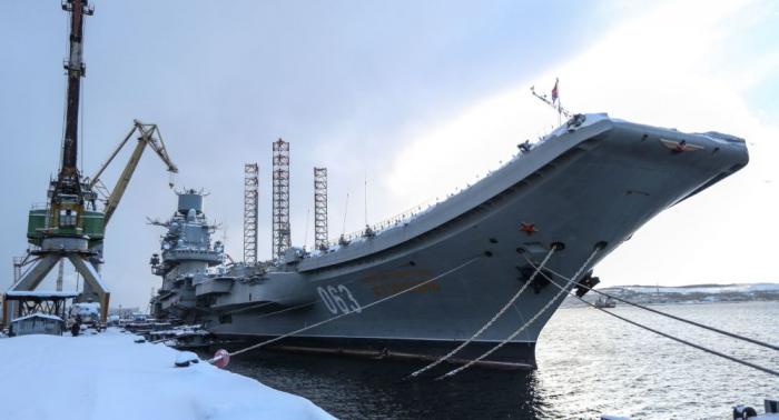 """Feuer auf russischem Flugzeugträger """"Admiral Kusnezow"""" ausgebrochen: Verletzte und Vermisste -   Video"""