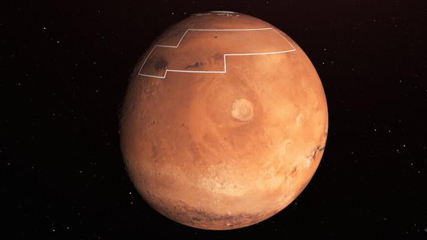 La NASA traza un mapa del tesoro para encontrar el agua de Marte