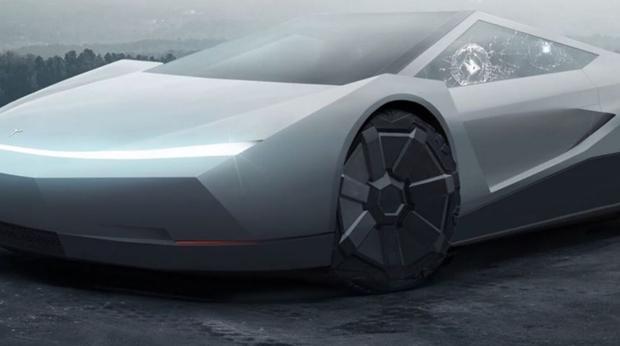 """Así es el """"cybercar"""", un coche del futuro para Tesla"""