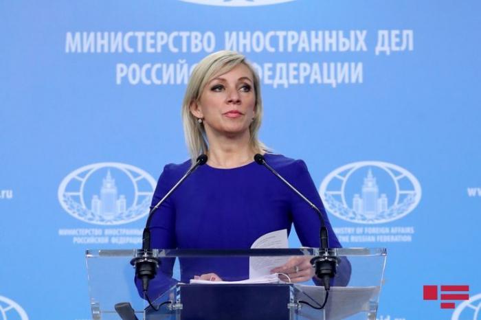 Zajarova  : Haremos todo lo posible por un diálogo constructivo en la solución del conflicto de Nagorno Karabaj