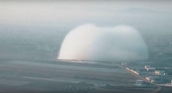 El vídeo de una impresionante explosión en Siria causa polémica en las redes